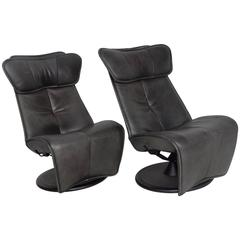 Pair of Contura Zero Gravity Recliner Chair by Modi, Hjellegjerde