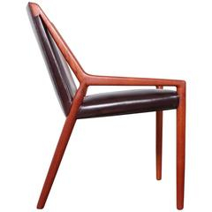 Lounge Chair by Ejner Larsen and Axel Bender Madsen for Willy Beck