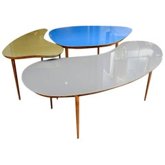 Set of Three Free Shape Low Tables