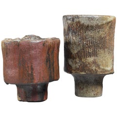 Jose Berlanga Pair of Ceramic Vases, Germany, 1970s