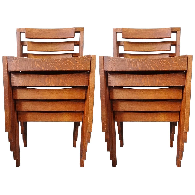 Gordon Russell Mid Century Modern Cotswold School Arts Crafts Ten Oak Chairs 13430 Set Of Eight Dining