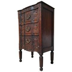 Petit Rustic Dresser with Panier de Fleur Panels