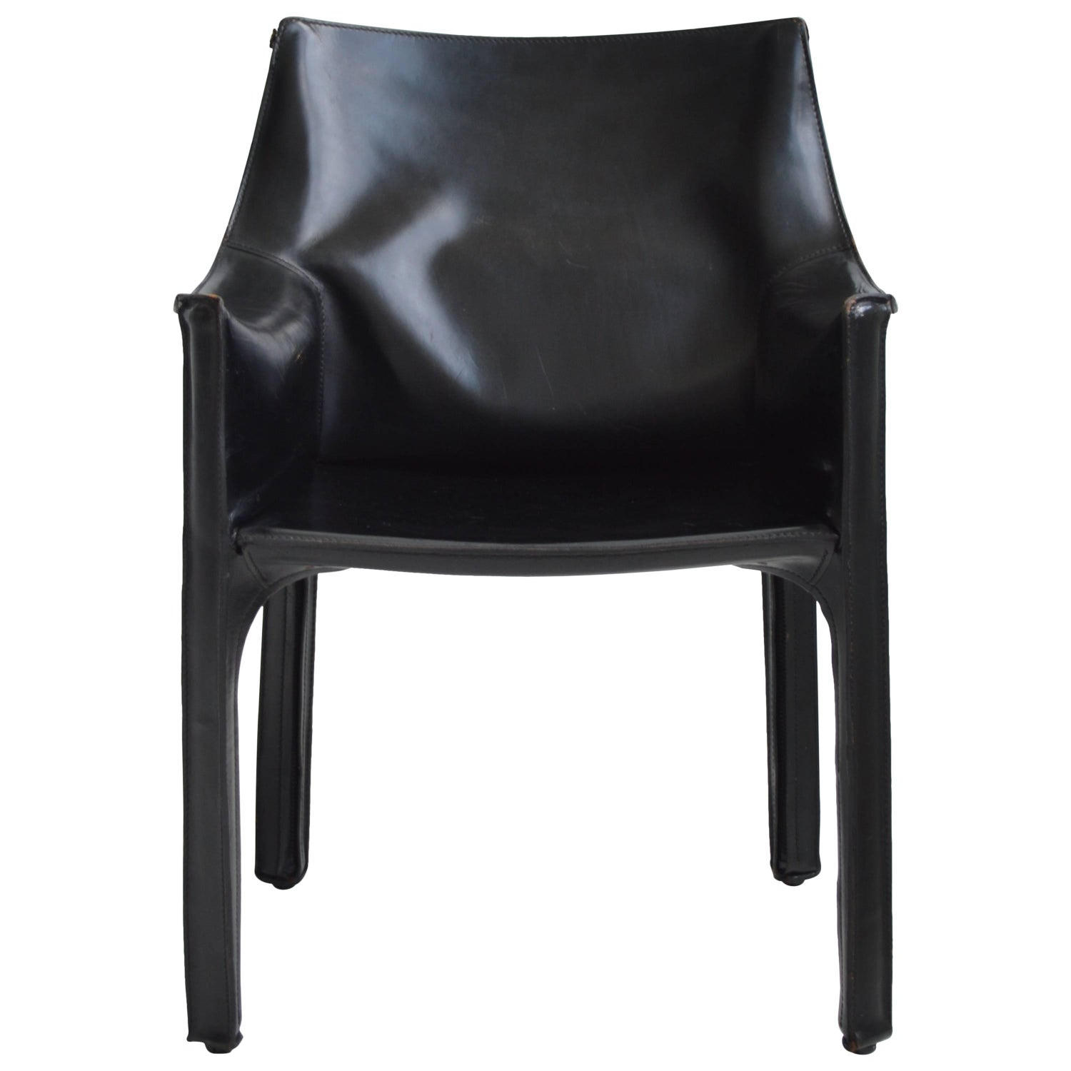 Mario Bellini Cab Chair for Cassina 20th Century Italian For