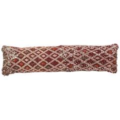 Moroccan Tribal Oversized Pillow Bolster
