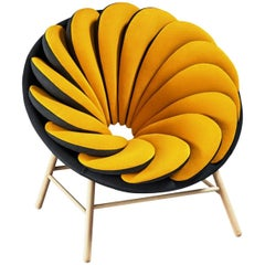 Quetzal Armchair by the Renowned French Designer Marc Venot