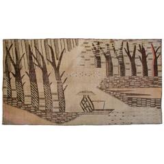 Early 20th Century Khotan Carpet
