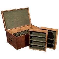 Oak Silver Chest Coffer Storage Trunk Blanket Box Coffee Table, circa 1900