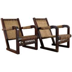 Art Deco Francis Jourdain Chairs