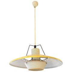 Mathieu Matégot Ceiling Lamp
