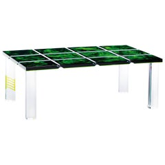 Plexiglass Coffee Table, Unique Piece, circa 1980, Italy