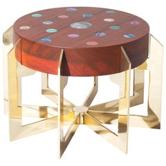 """Constellations"" Coffee Table by Studio Superego, Unique Piece, Italy"