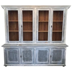 antique painted furnitureFrench Provincial Case Pieces and Storage Cabinets  205 For Sale