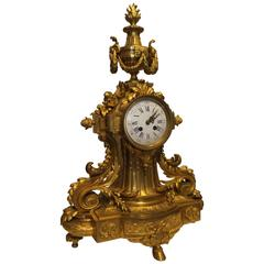 Mid-19th Century French Ormolu Mantel Clock