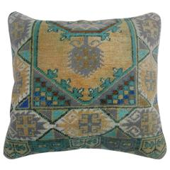 Pillow from a Turkish Anatolian Rug