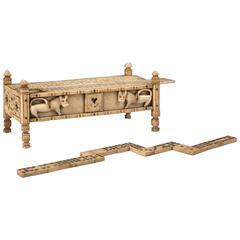 Napoleonic Prisoner of War Work Games Box