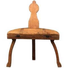"Provincial Metamorphic Chair or ""Bordstol"""