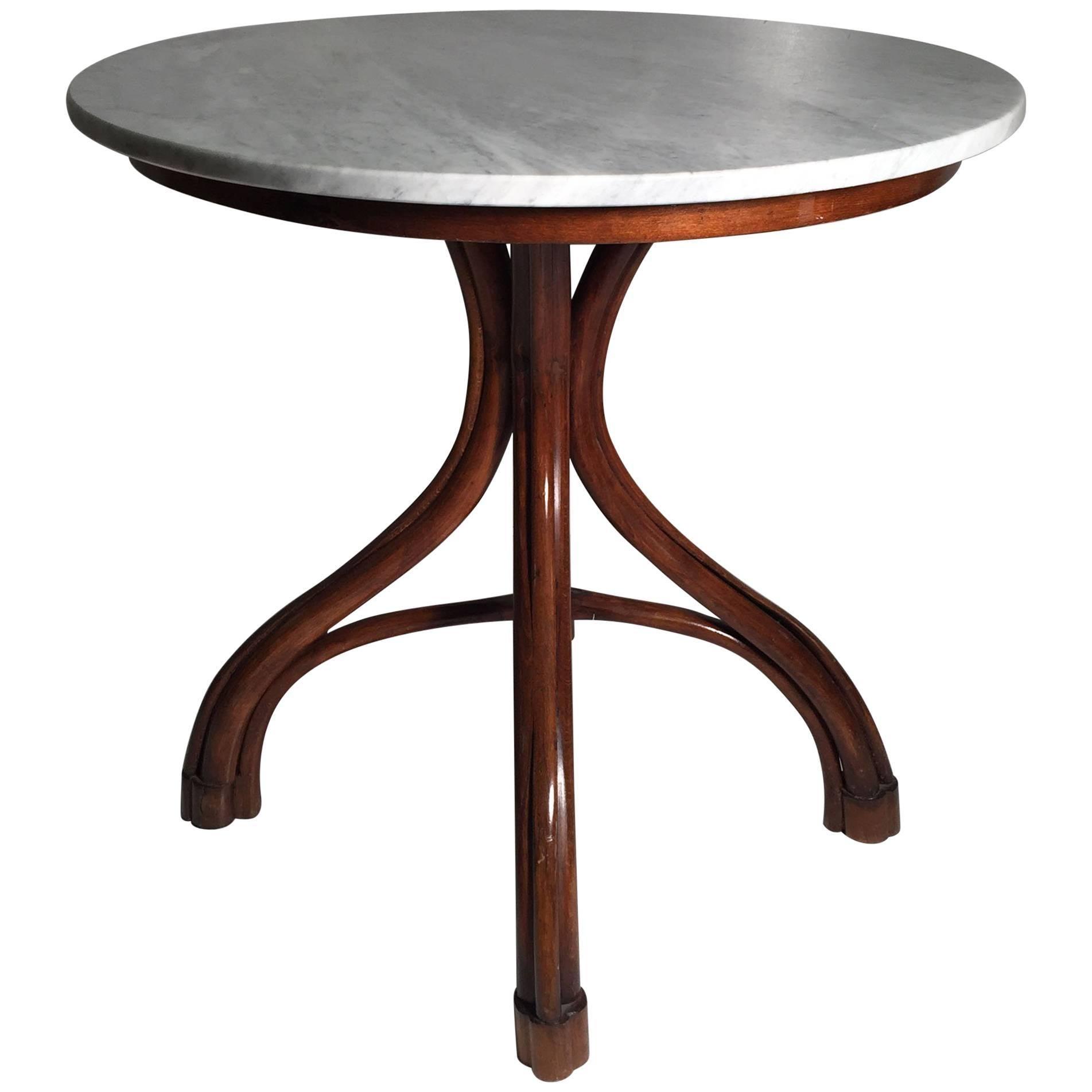 Vintage Thonet Bentwood Cafe / Side Table