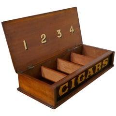 Victorian Mahogany Cigar Box