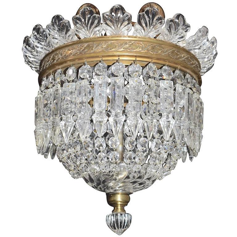 Antique Lighting, Baccarat Chandelier