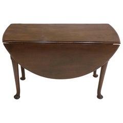 Period George III Drop-Leaf Dining Table