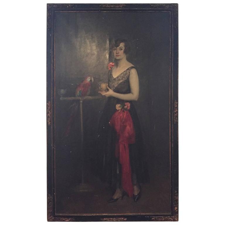 Portrait of Mrs. Douglas MacArthur 'Louise Cromwell' For Sale