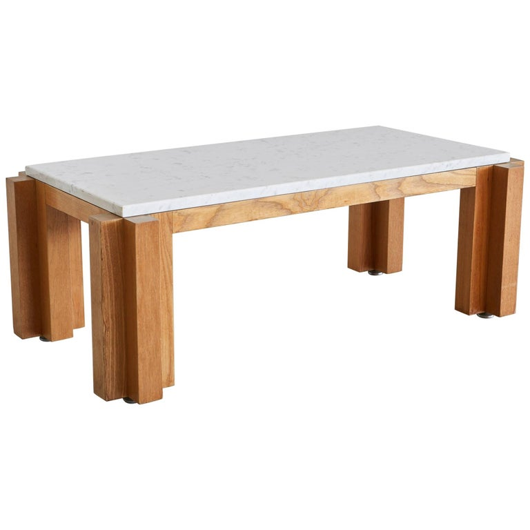 French Marble Coffee Table