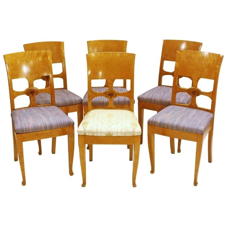 Set of Six Chairs by Anton Kjaer, Copenhagen For Sale