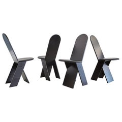 Marco Zanuso for Poggi Angular Chairs