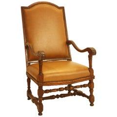 Period Italian Baroque / Louis XIV Style Armchair
