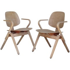Thonet Armchairs by Joe Atkinson