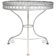Gothic Modern Wrought Iron Table