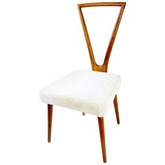 Mid-Century Chair in the Style of Jean Royere, France, 1950s
