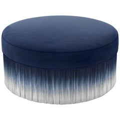 Moooi Amami Pouf by Lorenza Bozzoli in Blue, Light Grey or Dark Grey