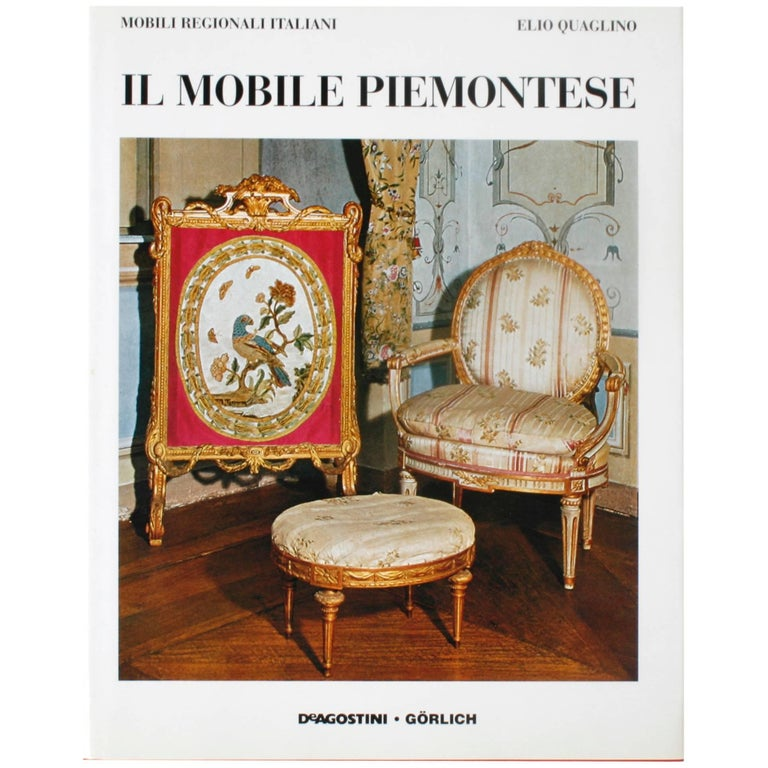 Piedmontese Furniture, First Edition For Sale