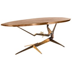 Brazier Jones 2010 , Bronze and Gold Atol Coffee Table