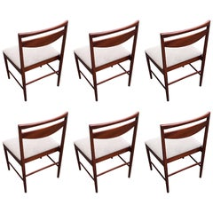 Mid-Century Dining Chairs by Tom Robertson for A.H. McIntosh, 1970s, Set of Six