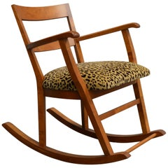 Swedish Art Moderne Rocking Chair