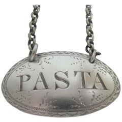 Rare Pasta Label Made in London in 1847 by Rawlings & Summers