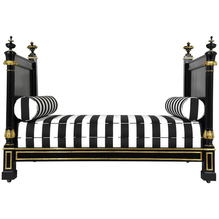 19th Century Empire-Style Daybed For Sale
