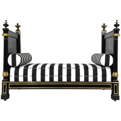 19th Century Empire-Style Daybed