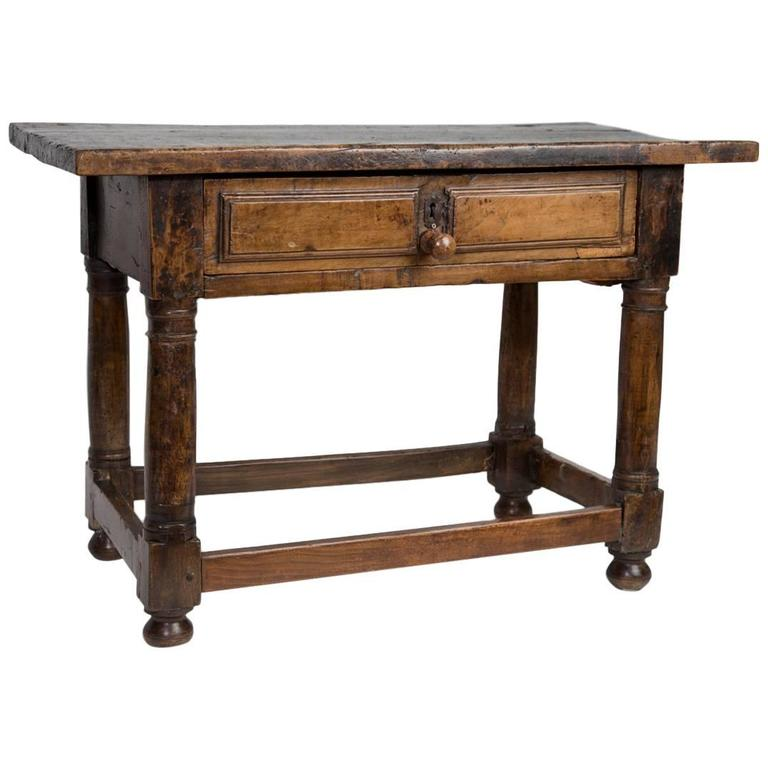 18th Century English Low Table For Sale