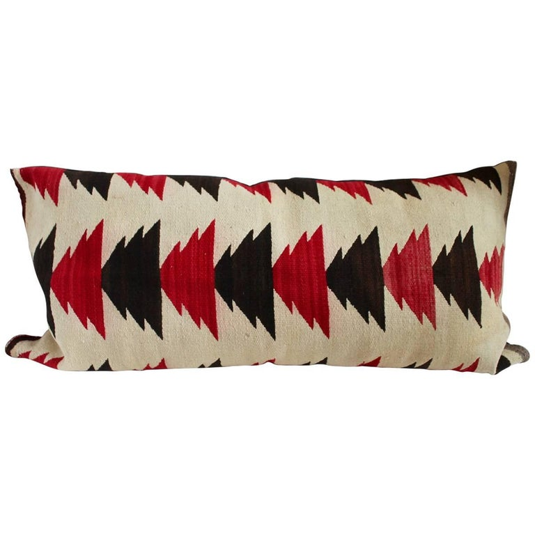 Flying Geese Navajo Indian Weaving Boster Pillow