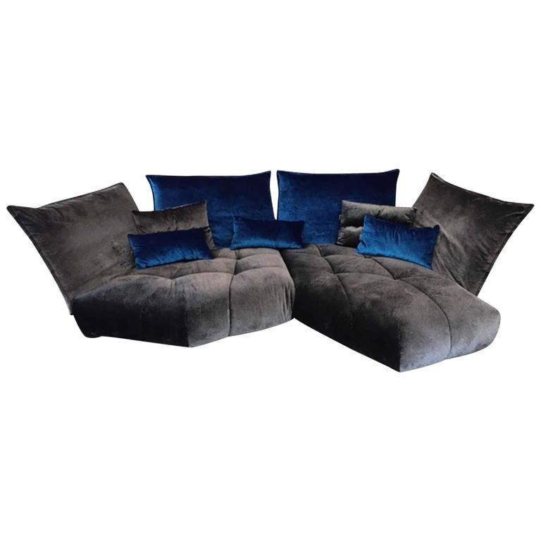 bretz corner sofa matilda exceptional piece of the german. Black Bedroom Furniture Sets. Home Design Ideas