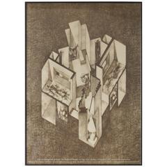 Gaetano Pesce Italy, the New Domestic Landscape Poster MoMA, NY