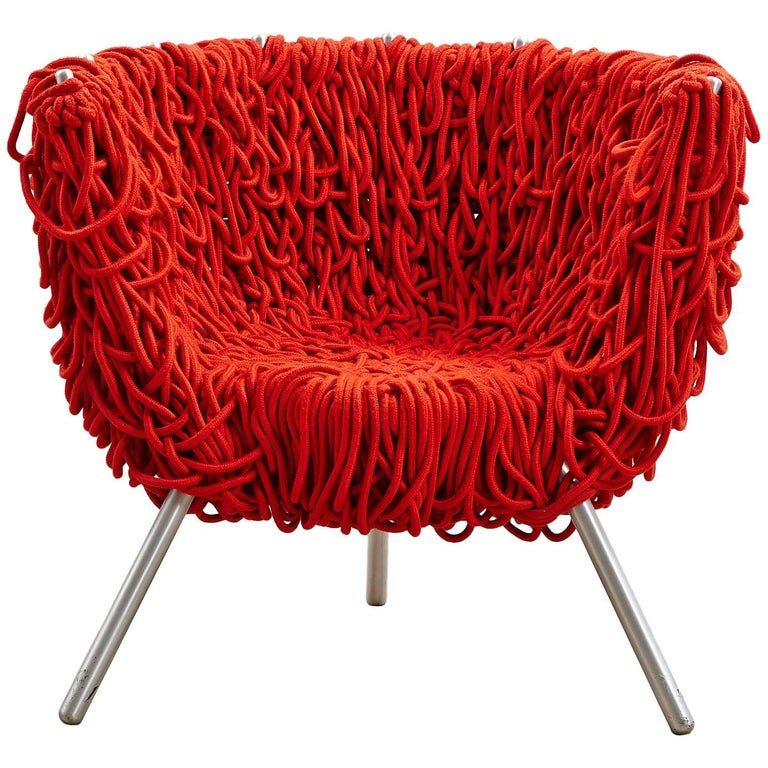 Red Quot Vermelha Quot Armchair By Fernando And Humberto Campana