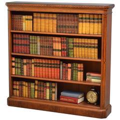 Aesthetic Movement Oak Bookcase