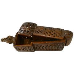 Flatware box with sliding lid ( 17th Century)