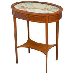 Edwardian Bijouterie Table, Display Table