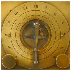 Square Sundial Adjustable, 18th Century