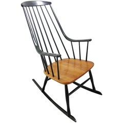 1958 Scandinavian Grandessa Rocking Chair by Lena Larsson, Sweden